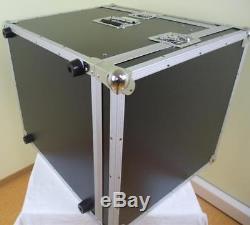 10/12 HE Kombicase ECO Winkelrack L-Rack DJ Rack Kombi Case Mixercase Flightcase
