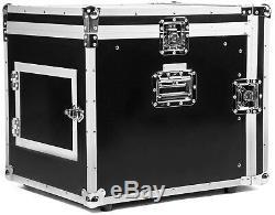 10 HE / 12 HE Kombicase ECO Mixer Case Winkelrack Rack L-Rack DJ Rack Mixercase