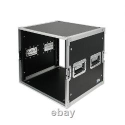 10 Space Pro Audio DJ Road Rack Case 10U Pro Tour Grade Case