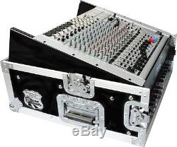 10U Slant Mixer Rack, 2U Vertical Rack