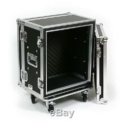 12 Space Shock Mount 12 Deep Effects Rack ATA Flight Road Case by OSP