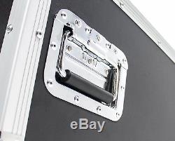 16 Space (16U) Mixer Amp DJ AV Case with 2 Tables OSP PRO19 ATA Road Flight