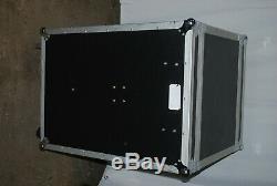 16U OSP SC16U-20SL ATA FLIGHT ROAD CASE-38.5Hx24.5Wx28D-SHOCKMOUNT WithTABLE
