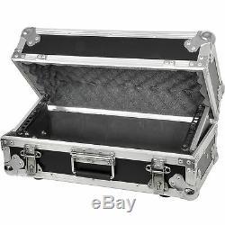 19 4U Equipment Flight Case-Mixer/Patch Panel Rack Storage Box HandleTransit
