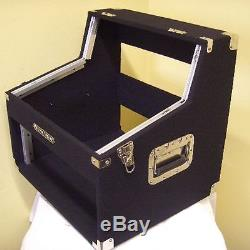2/6/4 HE DJ-Winkelcase Kombicase Doppel CD & Mixer Case L-Rack Winkelrack NEU