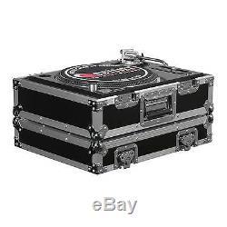 (2) Odyssey FR1200E Flight Ready Turntable Cases + FR12MIXE 12 Mixer Case