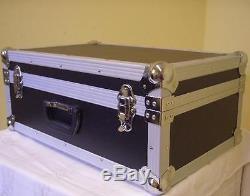 2 Stück PROFI Universal-Transport-Koffer-Case 60x40x26cm Mixer-Case Alu-Koffer
