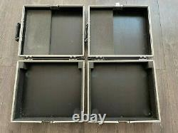 2 x Turntable / Deck Flight Cases Suitable for Technics etc