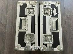 2 x Turntable/ Deck Flight Cases Suitable for Technics etc. #2