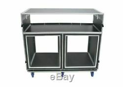 24 Space Shock Front Of The House ATA Road Case for Mixer / Rack Gear