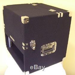 3/6/4 HE DJ-Case Kombicase Winkelrack Mixer/CD-Player-Case 3/4 HE Textil sw NEU
