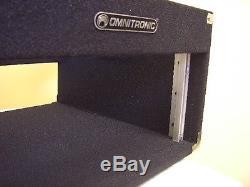 3/6/4 HE DJ-Workstation Winkelrack Kombicase Doppel CD Player & Mixer Case NEU