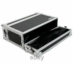 3 Space 10 deep Effects Road ATA Case Tour Flight 3U 19 Rack by Elite Core