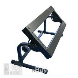 3U 19 Steel Rack Mount Stand for DJ Mixer / PRO-STAND DJST-AL3W w