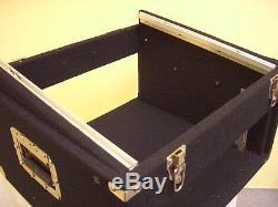 4/10 HE TXT-Kombicase Doppel-CD-Player & Mixer Winkelrack L-Rack DJ-Case NEU