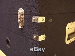 4/10 HE Textilbezug-Kombicase Winkelrack L-Rack Mixercase Workstation ROADINGER