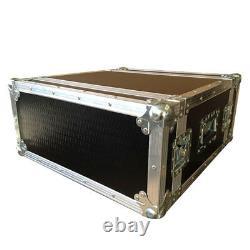 4U 500mm Deep Rack Flight Case with Foam Suspended Sleeve Ultrasonics Cases