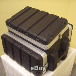 6/4/6 HE Kunststoff-Kombi-Case ABS-Kombicase Winkelrack L-Rack Hartschalenrack