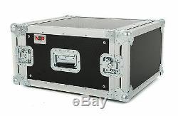 6u Rack Flight Case 450mm Deep Rackmount Fast Shipping