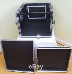 8//12 HE Kombicase ECO Winkelrack L-Rack DJ Rack Kombi Case Mixercase Flightcase