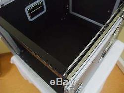 8 / 12 HE Kombi Case ECO Mixercase DJ-Rack Winkelrack L-Rack All-In-One-Rack 19