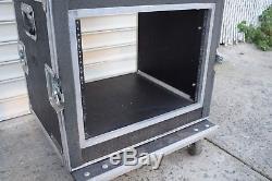 8U / 8 Space Shock Mount Equipment Rack