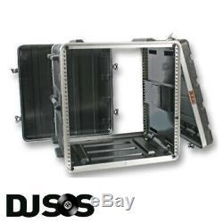 ABS 10u Rack Case Flight Case Rack Mount I Cabinet Equipment Case DJ