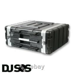 ABS 4u Rack Case Flight Case Rack Mount Flight Case Equipment Case DJ