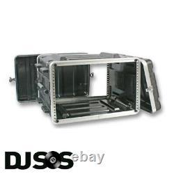 ABS 6u Rack Case Flight Case Rack Mount Flight Case Equipment Case DJ