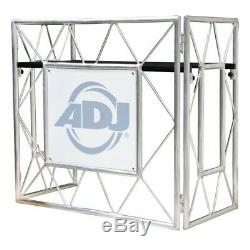 ADJ American DJ Pro Event Metal Foldable Portable Table II