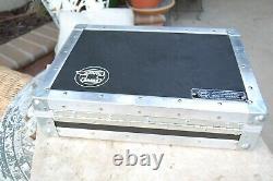 ANVIL Briefcase All Black, Excellent Condition Heavy Duty Road Case 17x13x4.5