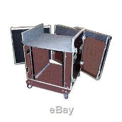ATA 3/8 Mixer/Rack Case withWHEELS FACTORY SALE For PRESONUS STUDIO LIVE 24.4.2