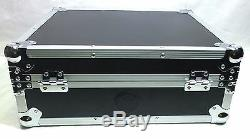 ATA Flight Case for Technics SL1200, Numark, Stanton, Pioneer Turntables (011A)