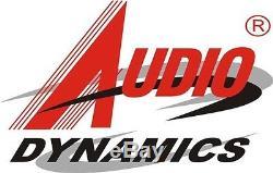 AUDIO DYNAMICS 10U 19 SLANT MIXER RACK / 6U AMP GLIDE LAPTOP SHELF, MR-106C