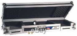 Audio Dynamics Pro Dj Coffin Road-ready Adjustable CD & Mixer Case Cd-1000
