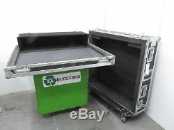 AVS Black Rolling Road Case for Midas 24 Channel Venice Mixer