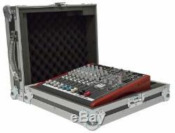 Allen & Heath Zed60-10FX Mixer Flight Case with Carrying Handle