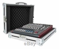 Allen & Heath Zed60-14FX Mixer Flug Fall mit Tragegriff
