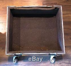 Anvil Heavy Duty Road / Flight Case for Audio Gear 23 x 25.5 x 11 Black