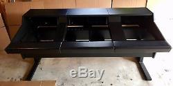 Argosy 90 Series Large Format Recording Console Desk (Black)