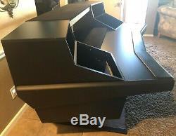 Argosy Dual 15 Workstation Desk with Two DR847 Front 12 RU & Rear 7 RU