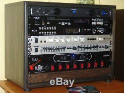 BRAND NEW Nice-Racks 8U Studio Rack, pick a stain