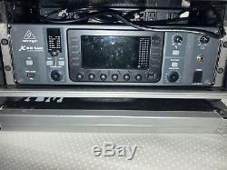 Behringer X32 Rack Digital Mixer with case and x live card