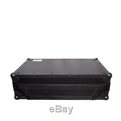 Black ATA Road Case & Laptop Shelf for Pioneer DDJ-SX, SX2 Digital Controller