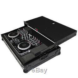 Black Road Case for Pioneer DDJ-SB, DDJ-SB2 & Numark Mixtrack Pro2 DJ controller