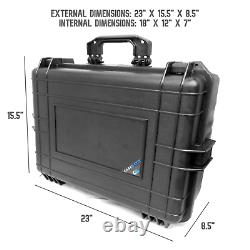 CM Waterproof Audio Mixer Case fits Behringer Xenyx X1222USB X1622USB and More
