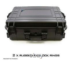 CM Waterproof Audio Mixer Case fitsYamaha MG12XU 12 Channel Mixing Console