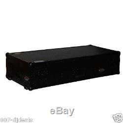 COFFIN LAPTOP SHELF BLACK FLIGHT CASE 2 LARGE CD 12 MIXER Rane Pioneer CDJ 900