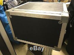 Calzone 4 Space ATA Mixer Amp Rack Road Case / Top Mixer Rack Authentic