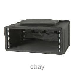 Chord 19 4U Rack Case Bag DJ Disco Equipment Wooden Flightcase